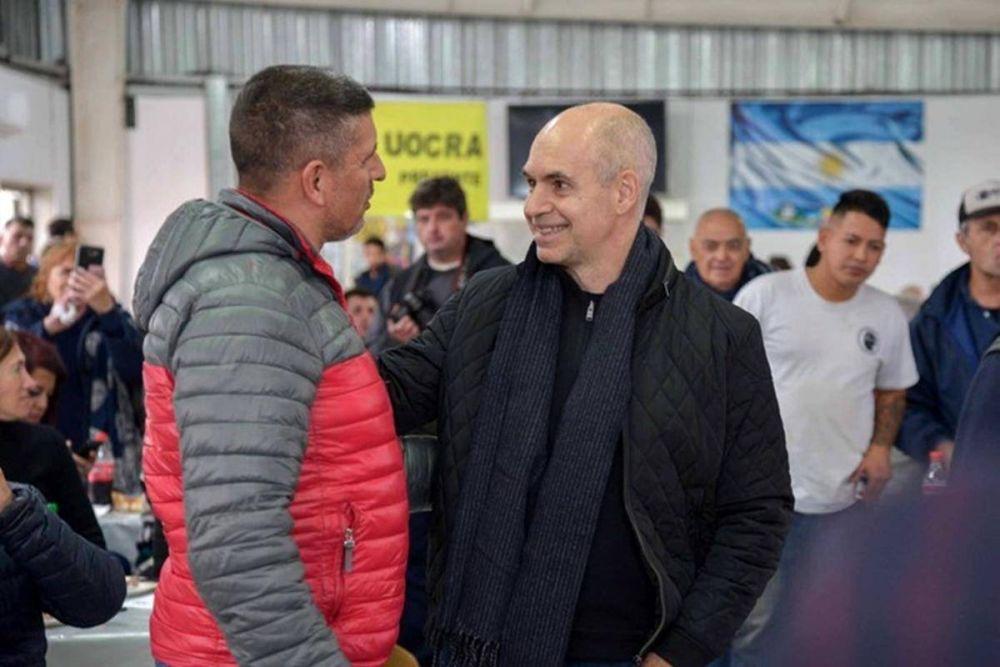 La UOCRA le pide a Larreta que no frene las obras grandes en la Ciudad