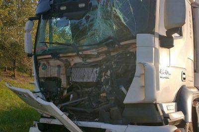 Camionero misionero involucrado en un choque en Entre Ríos