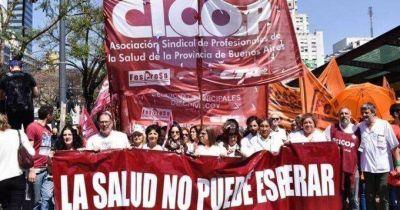 """CICOP pide """"inversión en producción pública de vacunas e insumos hospitalarios"""""""