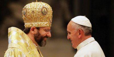 Ucrania espera la visita del Papa Francisco, asegura Arzobispo greco-católico