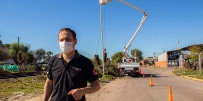 El municipio refuerza las tareas de mantenimiento de los espacios públicos
