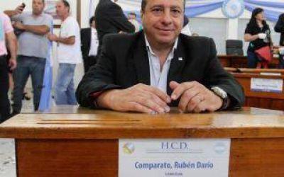 Dolor en el Concejo Deliberante de Berazategui: Murió por coronavirus el exconcejal Rubén Comparato