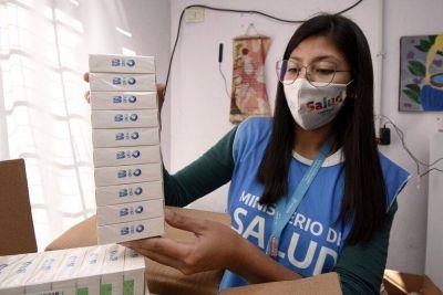 Brown suma 87.000 vacunas y llegan más dosis