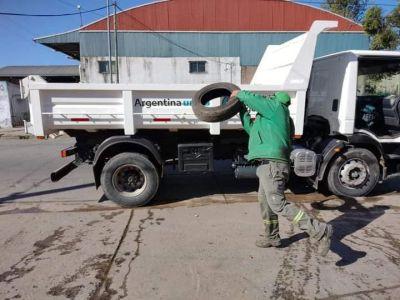 Recolección de neumáticos en desuso