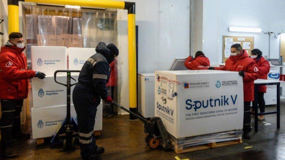 Vacunación contra el Covid: San Juan recibe más de 10.000 dosis de Sputnik