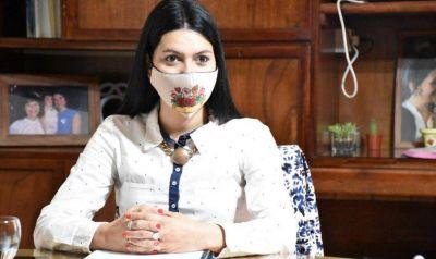 La intendenta Flor Destéfanis criticó las nuevas medidas implementadas por Suarez
