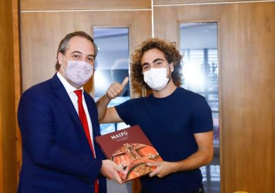 Matías Stevanato se reunió con representantes de la UIA Jóvenes