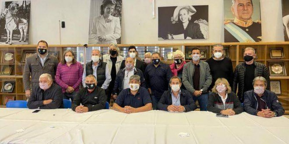 """Omar Plaini y el futuro de la CGT: """"Es clave la unidad del movimiento sindical argentino"""""""