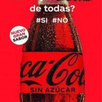 Coca-Cola lanza una nueva versión sin azúcar