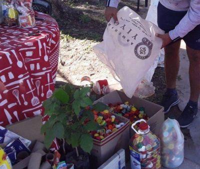 """""""Punto Limpio"""" en Las Garcitas, para recolección de materiales reciclables"""