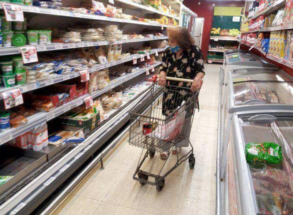 Estiman la inflación de abril en torno al 3,8%; alimentos suben fuerte