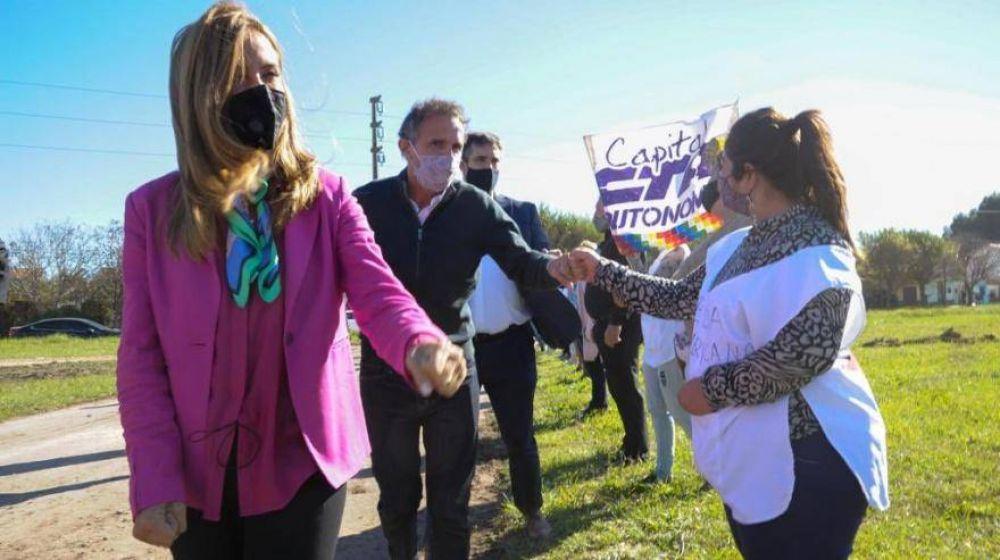 Katopodis y Tolosa Paz recorrieron obras del Plan Argentina Hace en Miramar