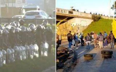 Choferes de colectivos realizan una nueva jornada de cortes en Moreno y en Puente Pueyrredón