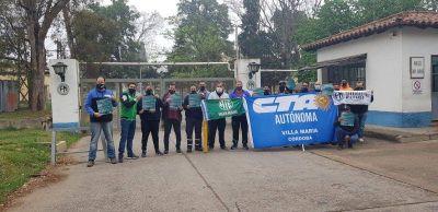 Reincorporaron a 17 trabajadores en la Fábrica Militar de Villa María