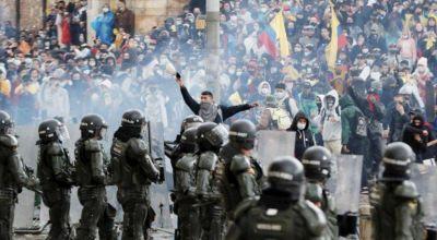 La CGT repudió la represión en Colombia: Condenamos enfáticamente el uso indebido de la fuerza contra el pueblo trabajador