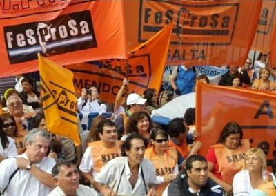 """FESPROSA: """"La primera línea no resigna derechos"""""""