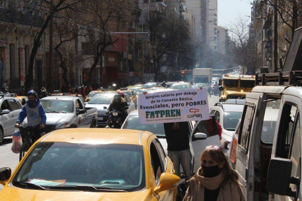 Trabajadores de Prensa paran 24 hs, el jueves por recomposición salarial