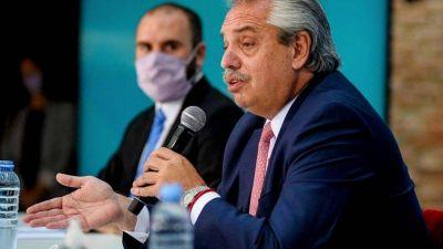 Alberto y Guzmán viajan a Europa por la deuda y toman distancia de la interna