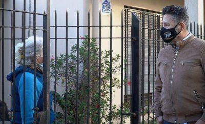 Merlo | Menéndez recorrió obras en Padua y Parque San Martín
