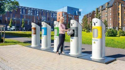 Nuevas bolsas con chips y horarios: la revolución en tecnología de recolección de residuos