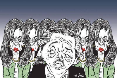 El yugo de Cristina Kirchner lleva a Alberto Fernández al límite