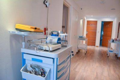 Arranca en La Plata la internación de pacientes en hospitales de campaña