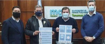 Montenegro se reunió con el Sindicato de Empleados de Comercio y la UCIP