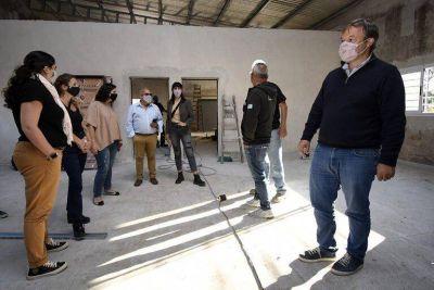 El Municipio de Brown construye un Centro de Desarrollo Productivo en Burzaco
