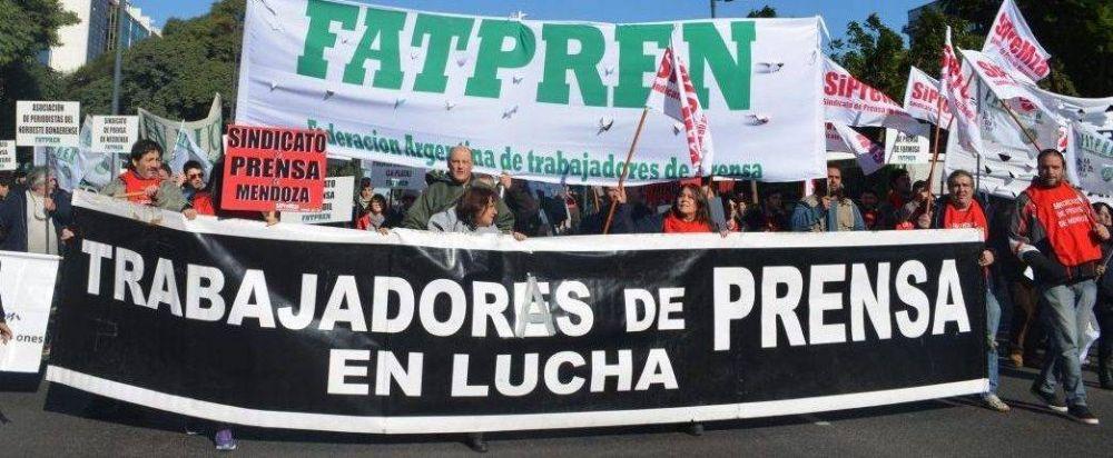 Paro de la Federación Argentina de Trabajadores de Prensa