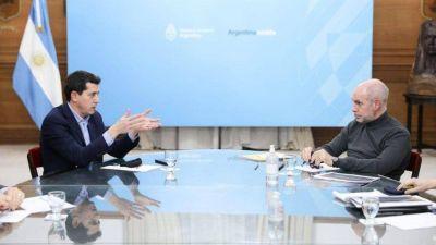 El Gobierno convocó a una reunión a Horacio Rodríguez Larreta para negociar el traspaso de fondos para la Policía de la Ciudad