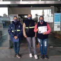Promotoras Ambientales capacitaron sobre reciclado a trabajadores de Tribunales