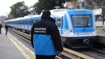 Los Custodios denuncian inseguridad y precarización en Trenes Argentinos