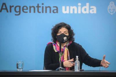 Llegan más vacunas de AstraZeneca a la Argentina