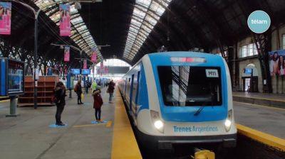 Los gremios ferroviarios acordaron una paritaria del 37,5% y una gratificación extraordinaria