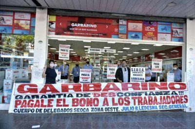 Garbarino: huelga de brazos caídos en las sucursales del Oeste