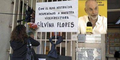 Denuncian a Larreta de homicidio tras la muerte de una docente por coronavirus
