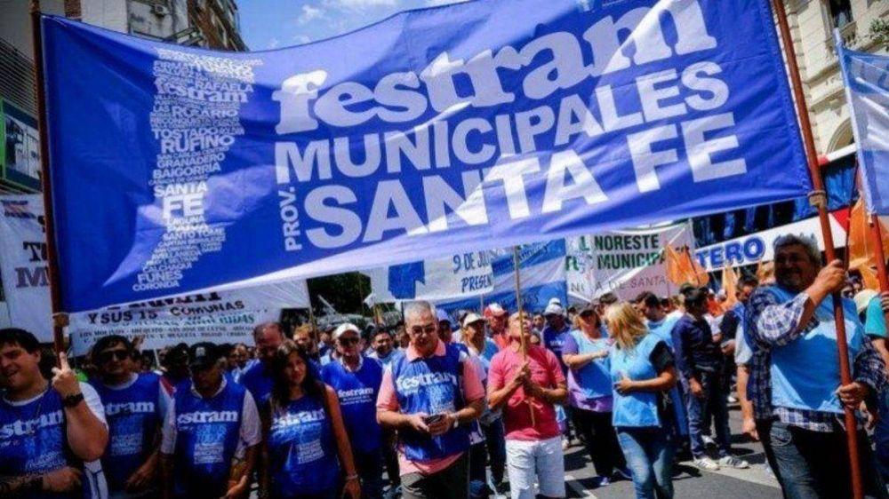 Municipales ratificaron el paro de 72 horas para la próxima semana