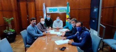 Montenegro firmó proyecto para la municipalización de los guardavidas