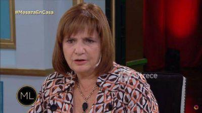 Patricia Bullrich sobre sus deseo de darle las Islas Malvinas a Pfizer: