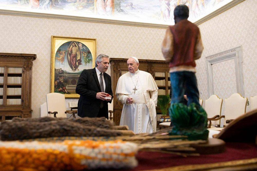 Contacto en el Vaticano: la trastienda del encuentro entre el presidente y el Papa
