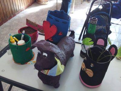 GIRSU y la escuela Emilio León trabajan conjuntamente en tareas de reciclaje