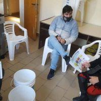 Charla sobre separación de residuos y compostaje en el San Ramón