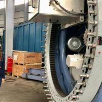 Empresa marplatense ensambla un aerogenerador