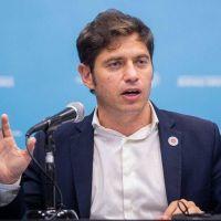 """Axel Kicillof: """"Soy gobernador de la provincia de Buenos Aires, no estoy en una disputa de poder con Guzmán"""""""