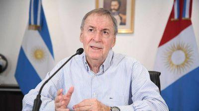 Las condolencias de Juan Schiaretti por la muerte de Miguel Lifschitz