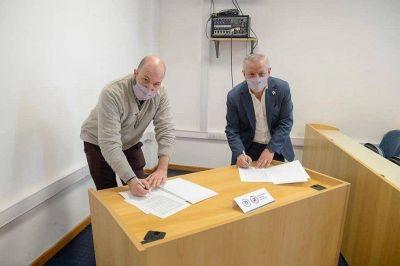 La UNVM firmó un convenio marco con el Sindicato de Músicos de Córdoba