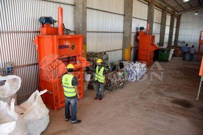 La planta de reciclaje de Nemesio Parma rescató 50 mil kilos de residuos