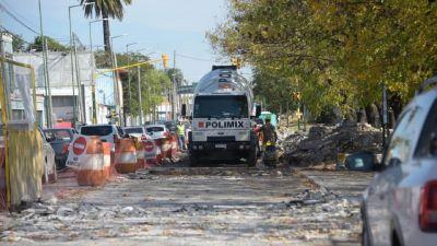 Mejoras en la Avenida Néstor Kirchner de Ituzaingó