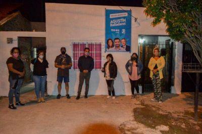 Balladares inauguró dos sedes del Frente de Todos de Lanús para Lanús