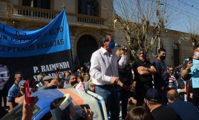 Troncoso destacó el contexto en el que se dio el aumento a los municipales